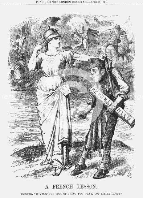 'A French Lesson', 1871. Artist: Joseph Swain