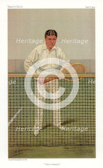 'Thrice Champion', 1904.Artist: Spy