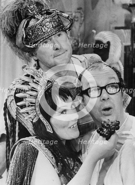 Glenda Jackson playing Cleopatra on the Morecambe and Wise Show, 1971. Artist: Unknown