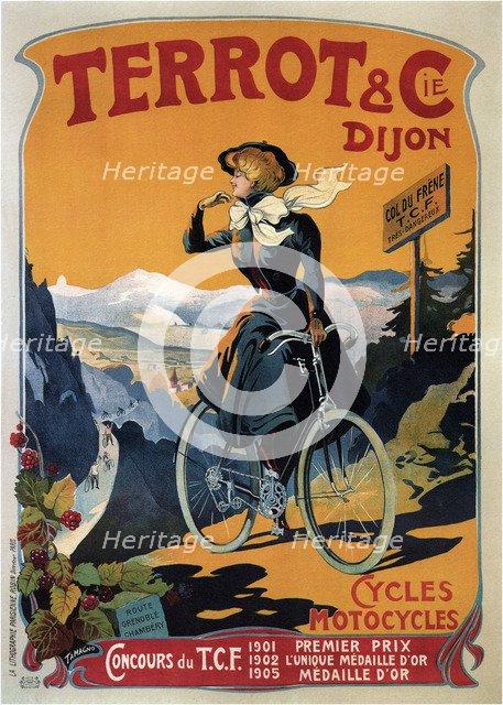 Cycles Terrot & Cie, 1905. Artist: Tamagno, Francisco (1851-1923)