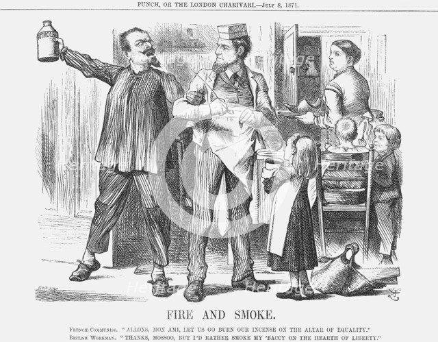 'Fire and Smoke', 1871. Artist: Joseph Swain