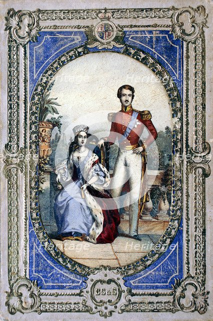 Queen Victoria and Prince Albert, c1840s. Artist: Unknown