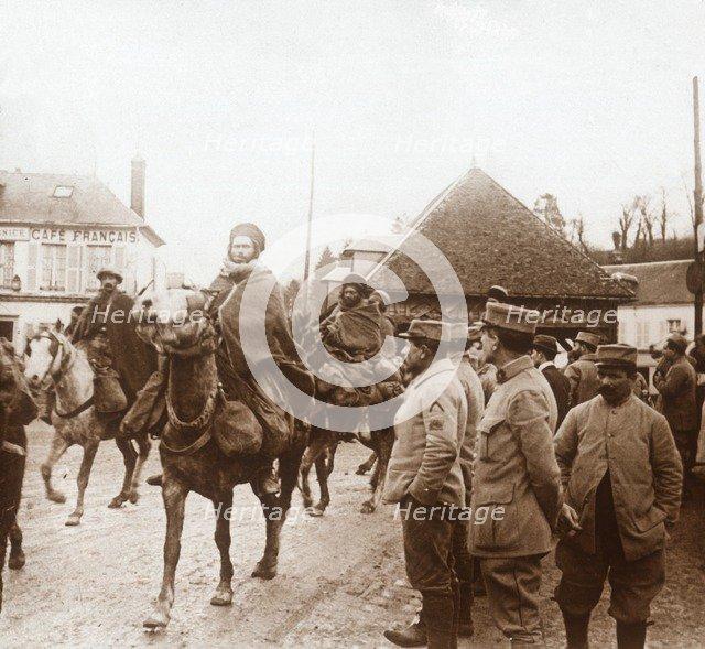 North African soldiers, c1914-c1918. Artist: Unknown.