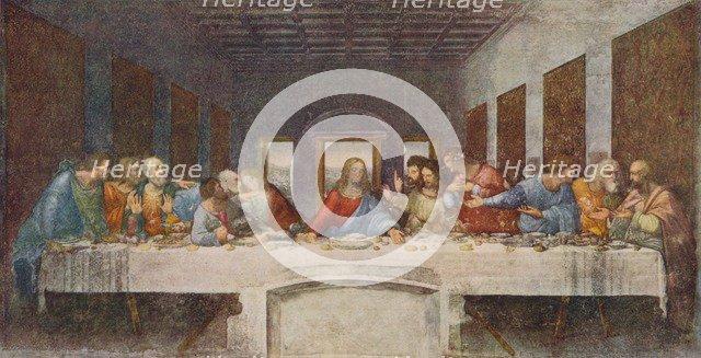 'The Last Supper', 1494-1498. Artist: Leonardo da Vinci.