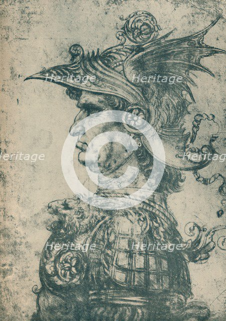 'A Condottiere', 1480, (1932). Artist: Leonardo da Vinci.
