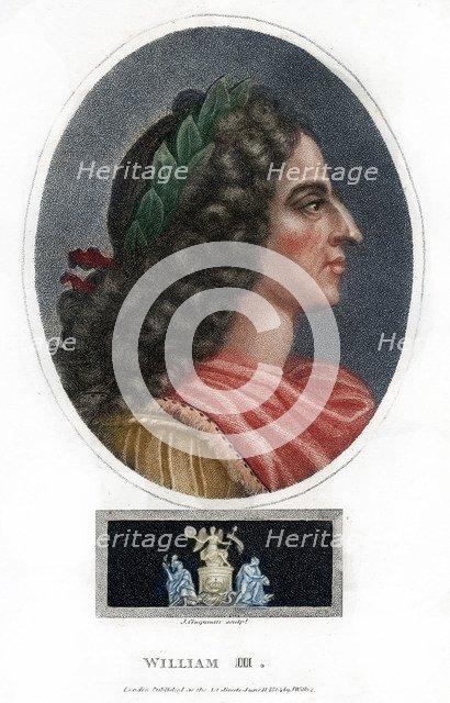 William III, King of England, Scotland and Ireland, (1804).Artist: J Chapman