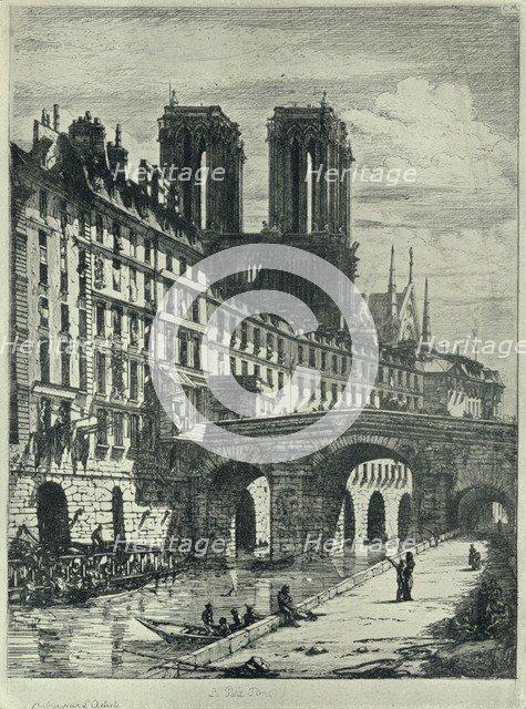 'Le Petit Pont', 1915. Artist: CH Meryon.