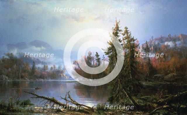 Autumn landscape, mid-late 19th century. Artist: Regis Francois Gignoux
