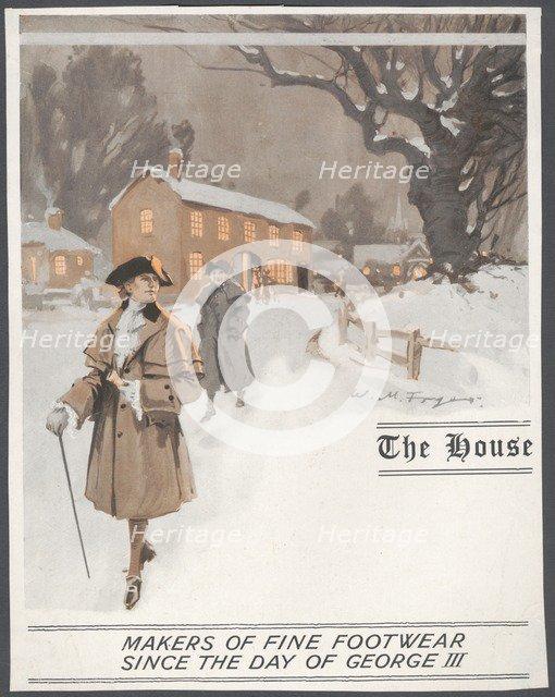 The House Menswear, c1920s. Artist: Wilfred Fryer