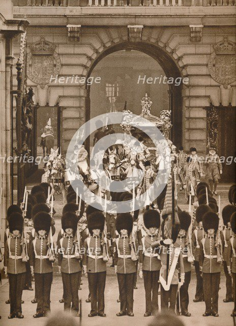 'The Coronation Procession to the Abbey', 1937. Artist: Unknown.