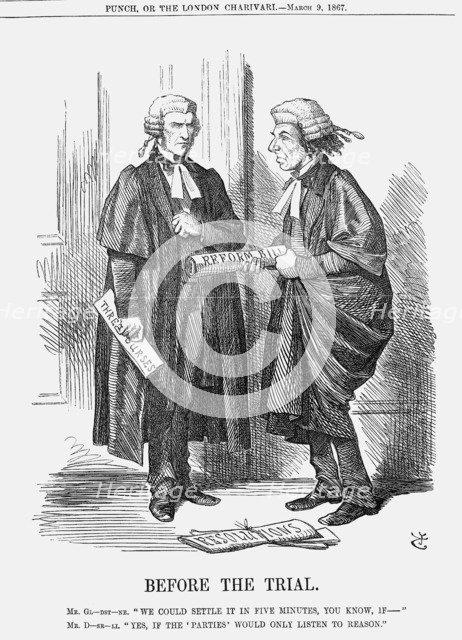 'Before The Trial', 1867. Artist: John Tenniel