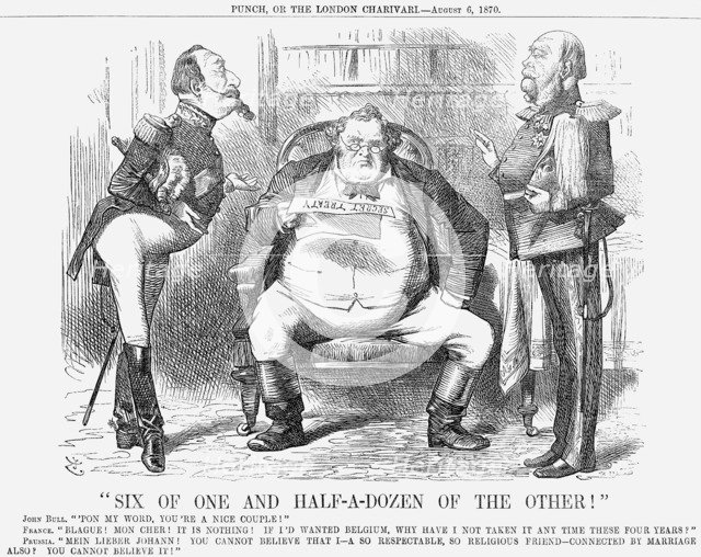 Six of One and Half-a-Dozen of The Other, 1870. Artist: Joseph Swain
