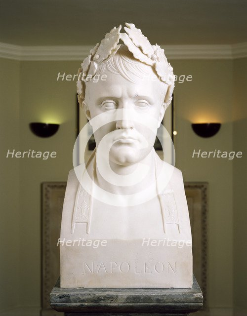 Bust of Napoleon as Emperor of France, c2000s. Artist: Historic England Staff Photographer.