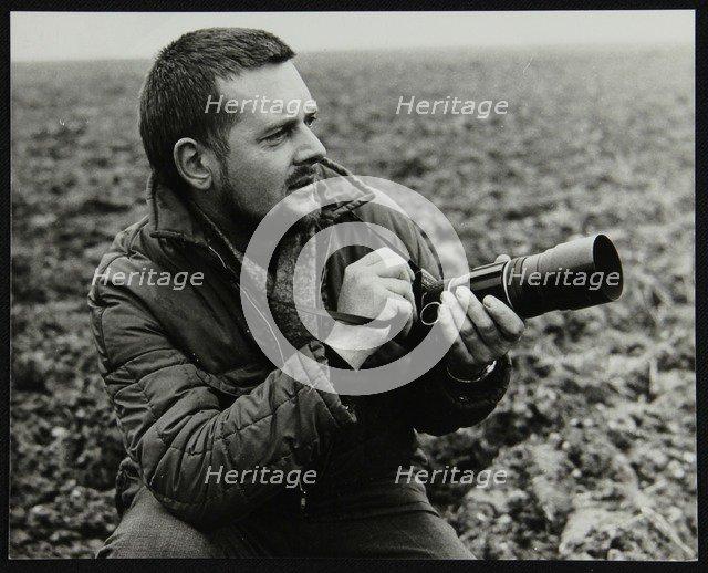 Portrait of photographer Denis Williams. Artist: Unknown