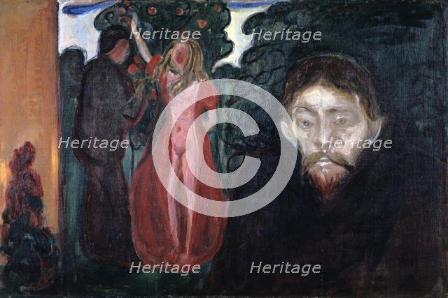 'Jealousy',1895. Artist: Edvard Munch