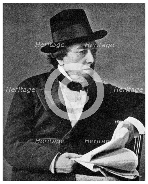 Benjamin Disraeli, British statesman, 19th century (1956). Artist: Unknown
