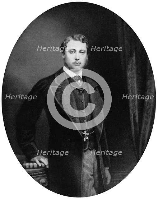 The Prince of Wales, c1863 (1964). Artist: Unknown