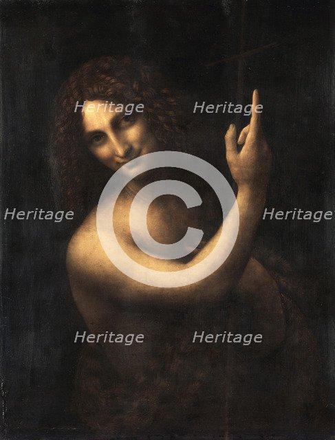 Saint John the Baptist, 1513-1516. Artist: Leonardo da Vinci (1452-1519)