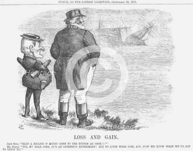 'Loss and Gain', 1875. Artist: Joseph Swain