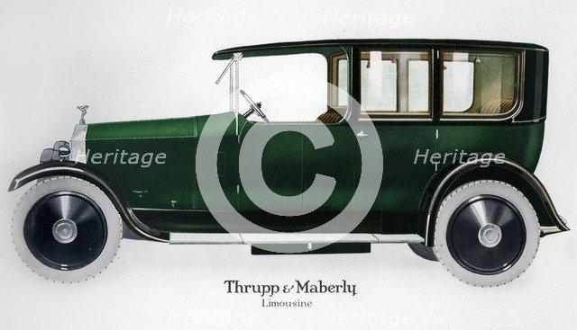 Rolls-Royce limousine, c1910-1929(?). Artist: Unknown