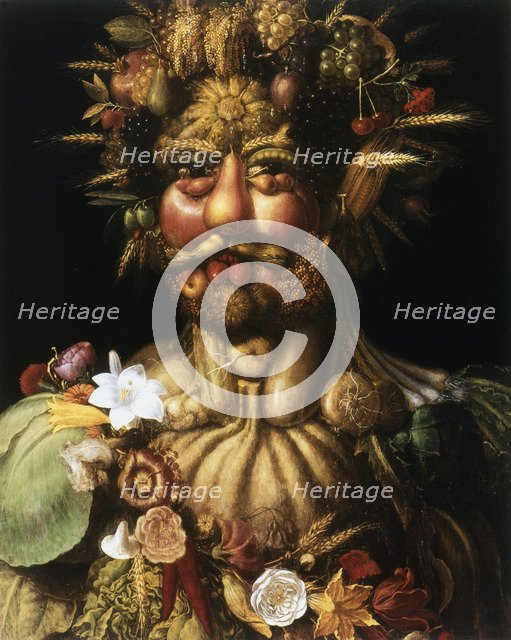 'Vertumnus - Rudolf II', c1590. Artist: Giuseppe Arcimboldi