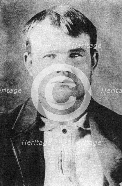 Butch Cassidy, American outlaw, 1894-1896 (1954). Artist: Unknown