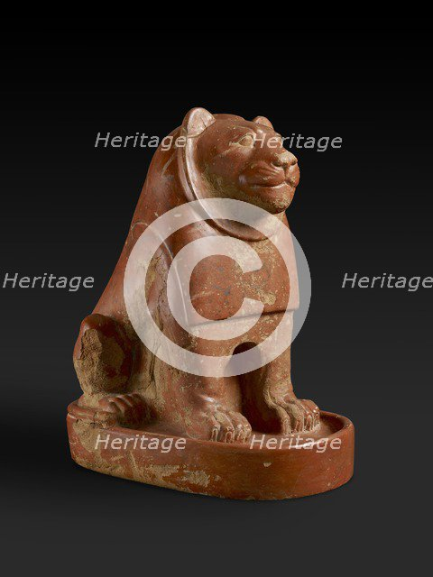 Lion statue, VIth Dynasty (c2325-c2175 BC). Artist: Unknown.