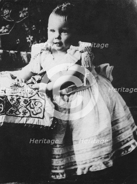 The Duke of Windsor as a baby, c1894-1895. Artist: Unknown