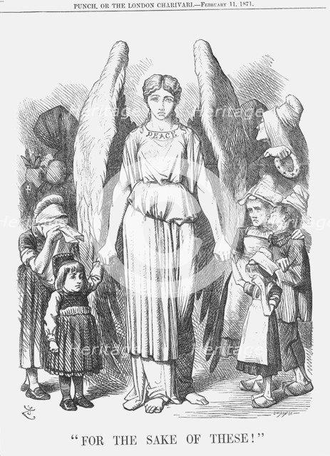 For the Sake of These!, 1871. Artist: Joseph Swain