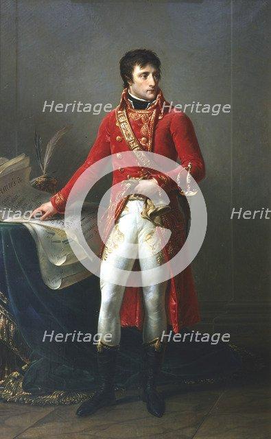 Napoleon Bonaparte as First Consul, 1799-1821. Artist: Antoine-Jean Gros