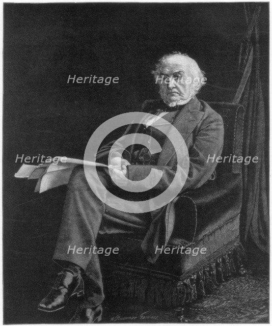 William Ewart Gladstone, British Liberal Party statesman and prime minister, 1894.Artist: William Biscombe Gardner