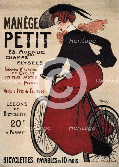 Manège Petit, 1899. Artist: Barrère, Adrien (1877-1931)