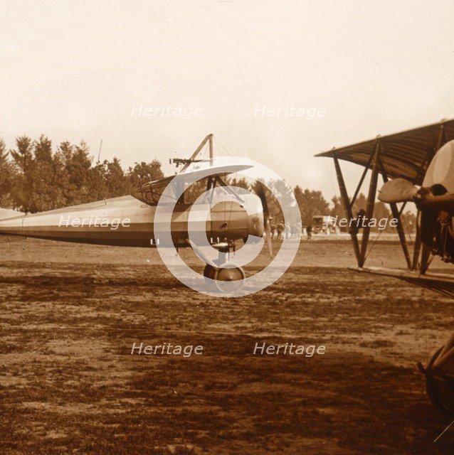 A plane taking off, c1914-c1918. Artist: Unknown.