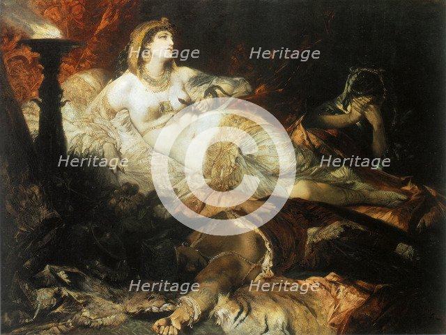'The Death of Cleopatra', 1875.  Artist: Hans Makart