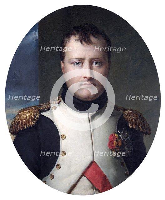 Portrait of Napoleon Bonaparte, 19th century. Artist: Robert Lefevre.