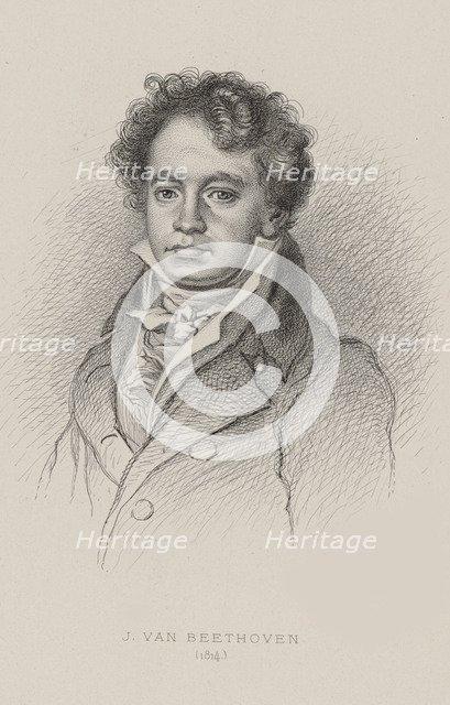 Portrait of Ludwig van Beethoven (1770-1827), ca 1820.