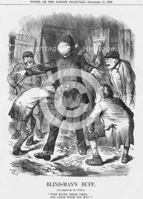 'Blind-Man's Buff', 1888. Artist: Joseph Swain
