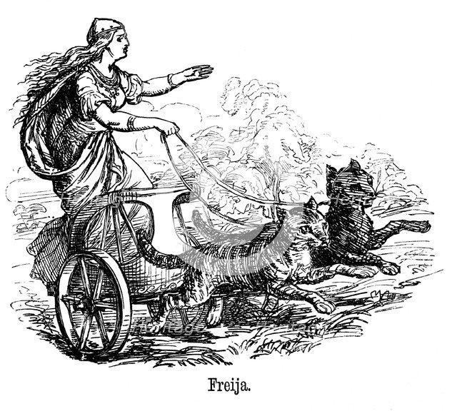 Freya Frigg Goddess Of Love In Scandinavian Mythology