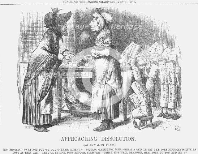 'Approaching Dissolution', 1875. Artist: Joseph Swain