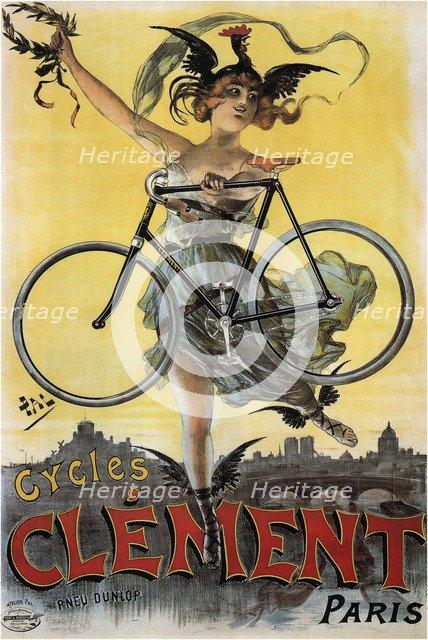 Cycles Clément, 1898. Artist: Paléologue (Paleologu), Jean de (1855-1942)