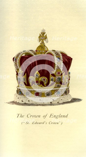 The Crown of England, 1901. Artist: Unknown