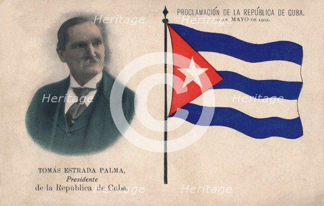 'Tomas Estrada Palma, Presidente de la Republica de Cuba', 1902. Artist: Unknown.