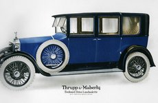 Thumbnail image of Rolls-Royce enclosed drive landaulette with partition behind the driver, c1910-1929(?). Artist: Unknown