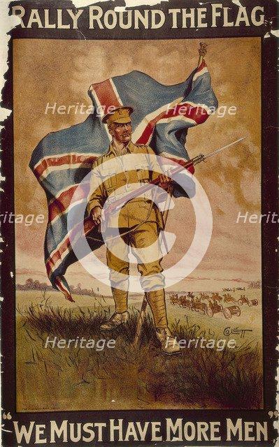 'Rally Round the Flag', c1914-c1918. Artist: Collett