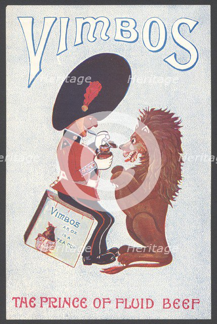 Vimbos Meat extract, 1890s. Artist: Unknown