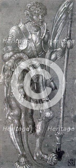 'St George', c1504-1553. Artist: Lucas Cranach the Elder