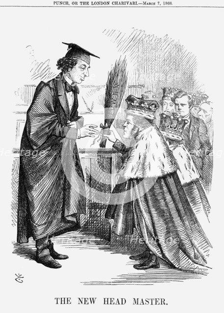 'The New Head Master', 1868. Artist: John Tenniel