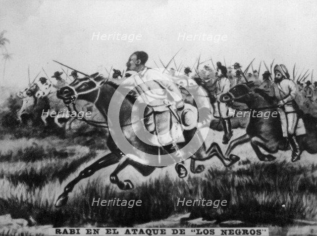 "'Rabi in the Attack of ""The Blacks""', 1895, (1920s).  Creator: Unknown."