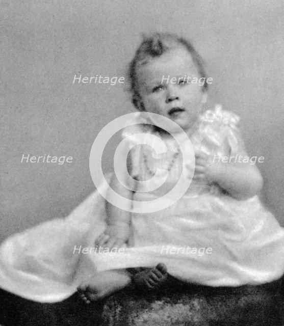 Princess Elizabeth in 1926, when she was a few months old, (1937). Artist: Unknown