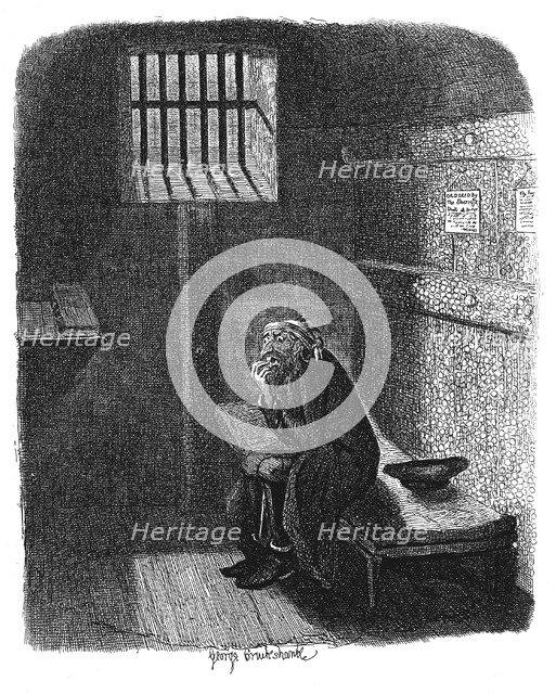 Scene from Oliver Twist by Charles Dickens, 1837. Artist: George Cruikshank